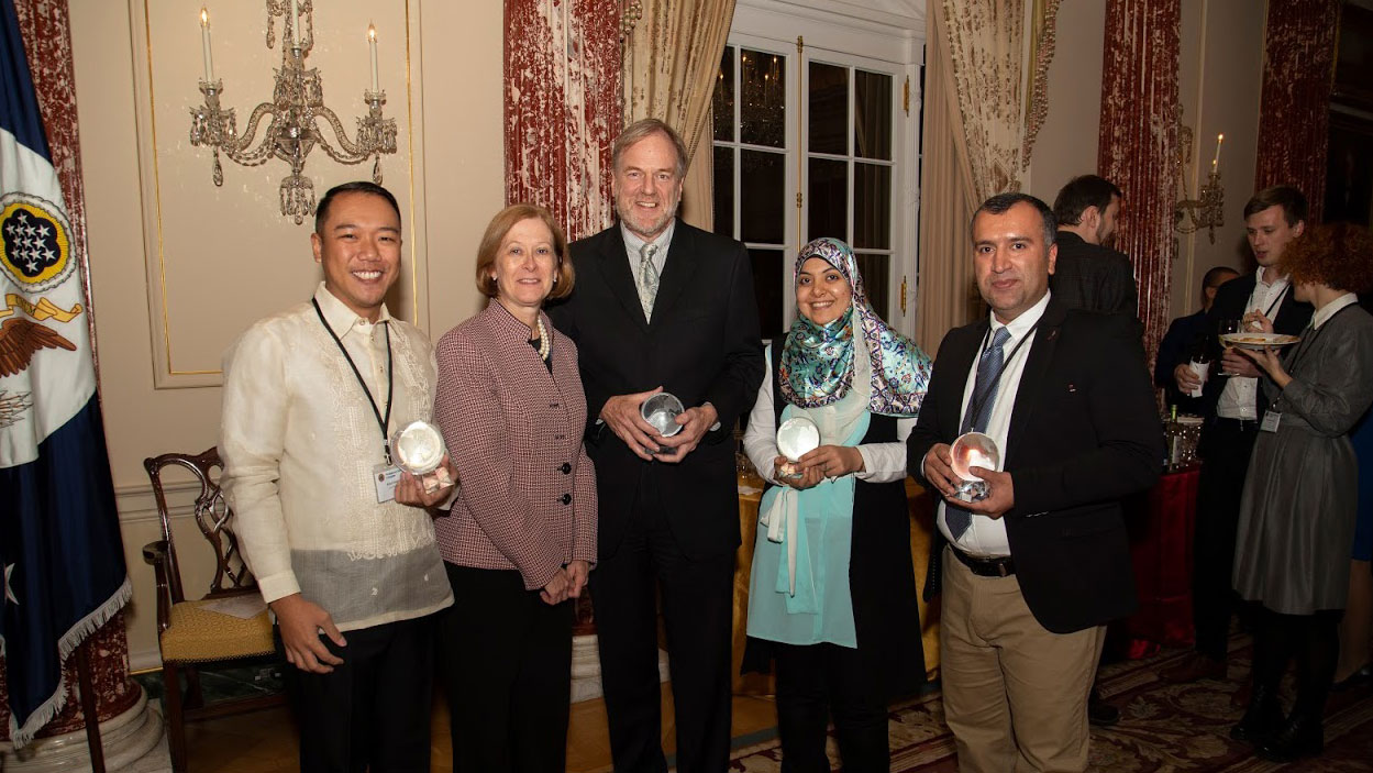 2019 Professional Fellows Program Alumni Impact Award