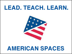 American Spaces logo.
