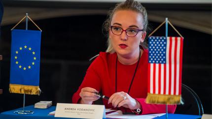 Exchange alumna Andrea Vodanovic