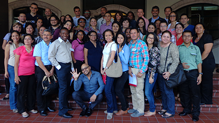 Members of the newly formed Honduran alumni association, Innovad H.