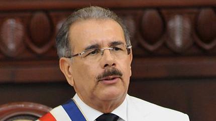 President of the Dominican Republic and IVLP alumnus Danilo Medina.