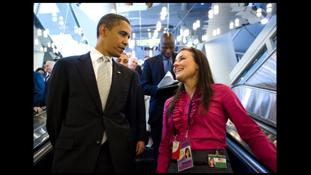 President Barack Obama and CLS Participant Lesley Dudden discuss her CLS program experience.