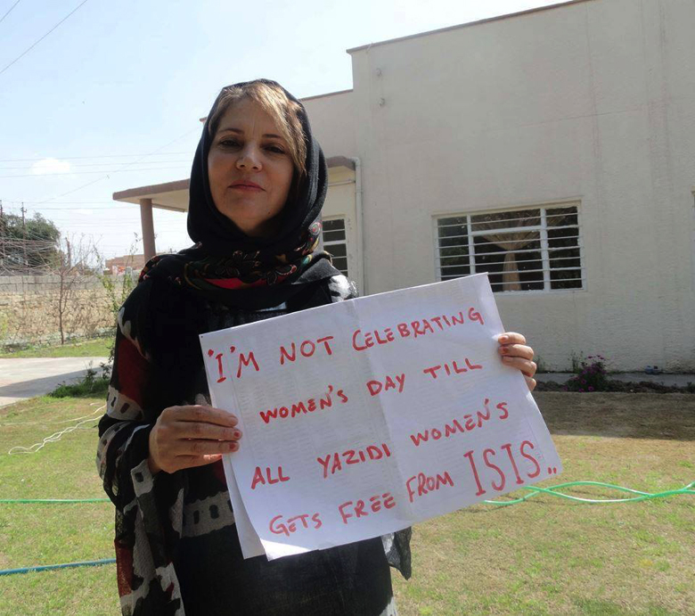 2014 MEPI Civic Education and Leadership Fellowship (CELF) alumna Payman Hussen sends a message to the world about Yezidi women and ISIS.