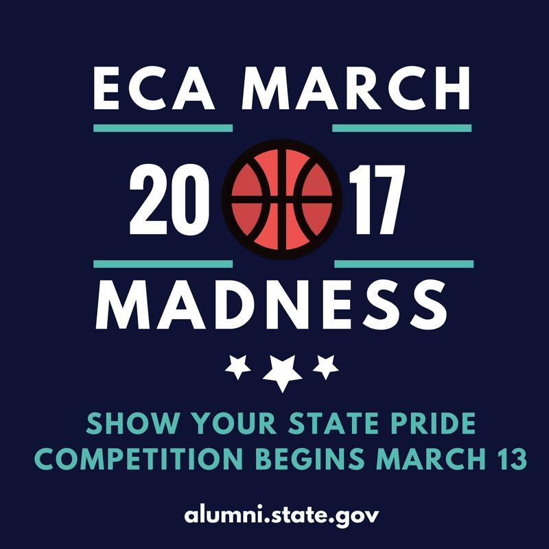ECA March Madness graphic logo