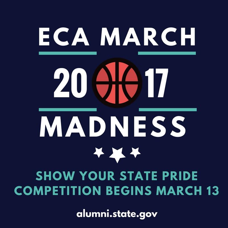 ECA March Madness graphic logo