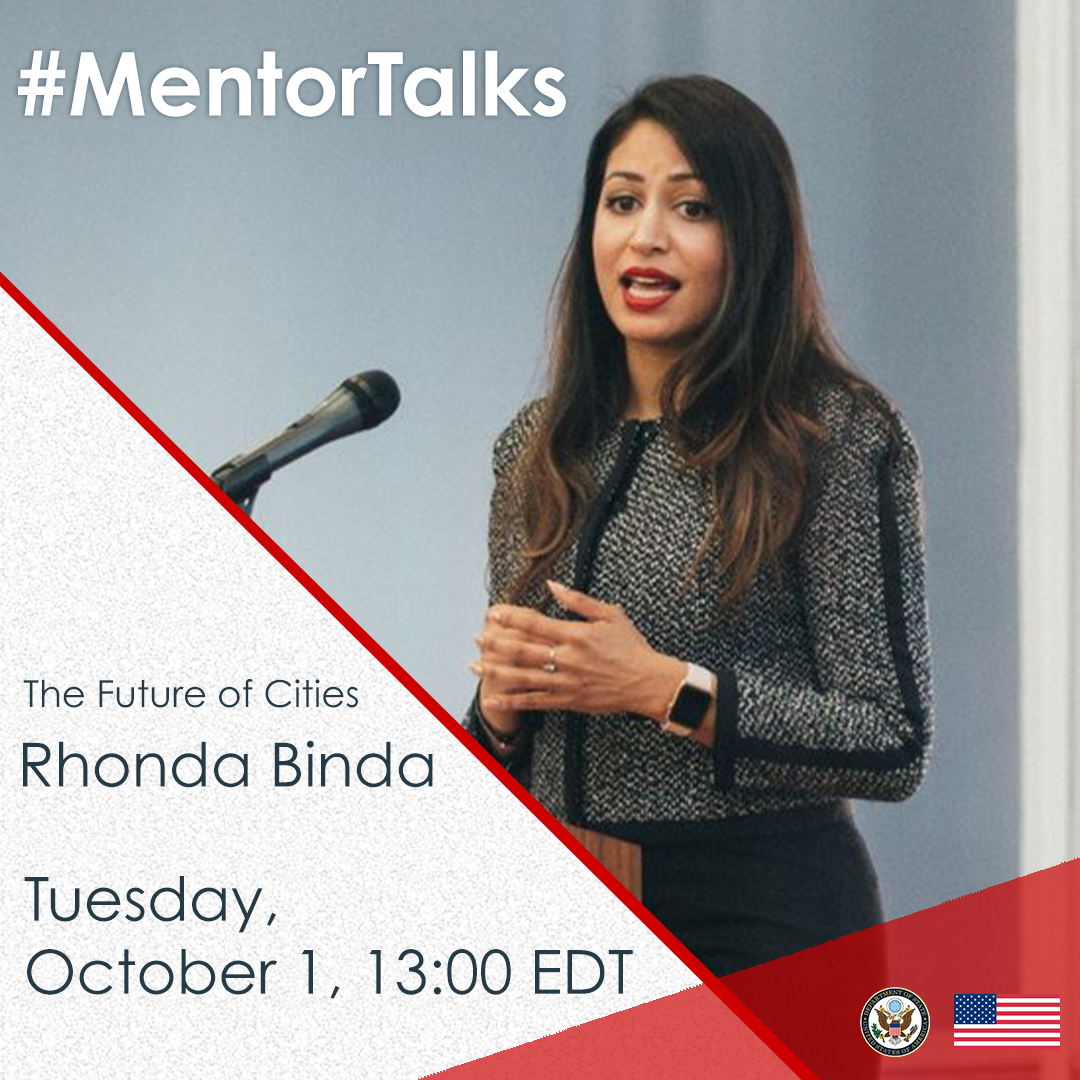 MentorTalks with Rhona Binda