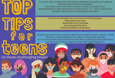 Top Tips for Teens banner