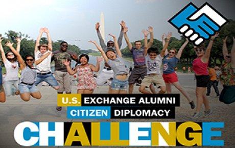 U.S. International Exchange Alumni: Take the Citizen Diplomacy Challenge!