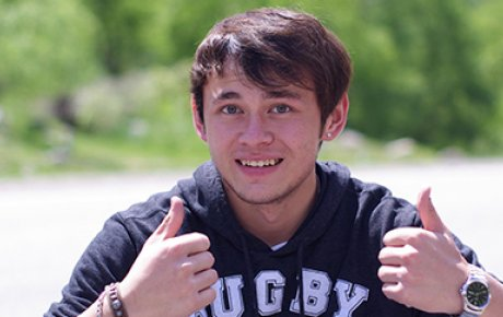 Ignatiy Kim, alumnus of the FLEX program, traveled to Iowa in 2009 as a high school student from Kyrgyzstan.