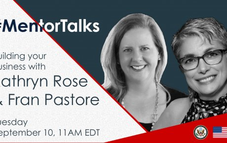 MentorTalks with Kathryn Rose and Fran Pastore