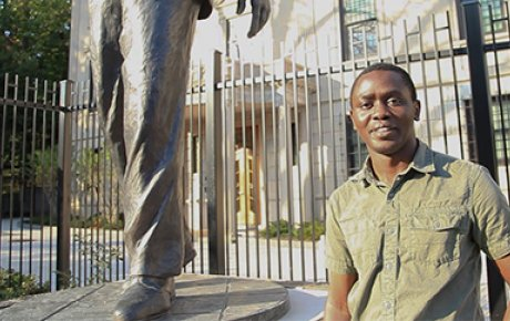 Mandela Washington Fellow from Zambia Clive Jifunte