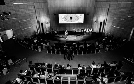 The TEDx conference held at ADA University in Baku, Azerbaijan.
