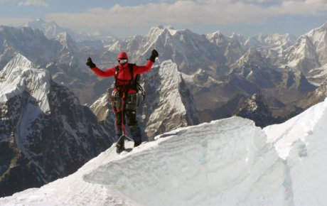 Ilina Arsova, Global Sports Mentoring Program Alumna, becomes the first Macedonian woman to climb to the summit of Mount Everest.