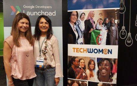 Anar Simpson at TechWomen