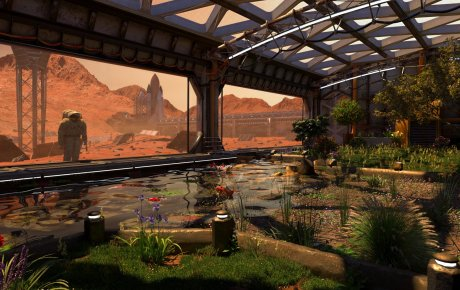 greenhouse in Mars