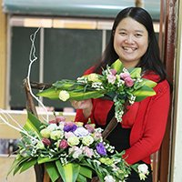 Octoger 2014 Exchange Alumni Member of the Month Pham Thi Thu Trang from Vietnam