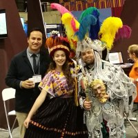 Victor Juarez promoting Visit Guatemala