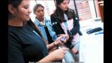 Global Undergraduate Exchange Program participant, Beatriz Recinos, teaching students about oceanography