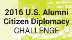 U.S. Exchange Alumni Citizen Diplomacy Challenge 2016 Winners Announced!