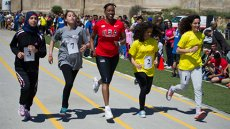 USA Track & Field Legend Jackie Joyner-Kersee Made Great Strides in Jerusalem