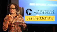 International Women of Courage Jestina Mukoko