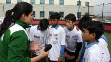 Pakistani Sports Visitor and Fulbright Alumna Wins on and off the Field