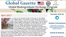 World Learning's Global UGRAD April 2017 Newsletter