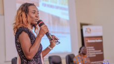 Cote d'Ivoire Alumna Creates Connections for African Women