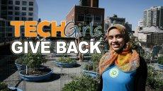 TechGirls Give Back!