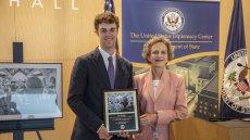 Ambassador Galt shares her path to diplomacy